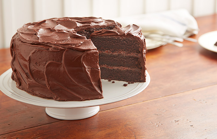 Gluten Free Dark Chocolate Orange Cake