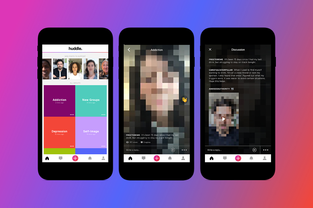 Introducing Huddle: The App Changing The Way We Talk About