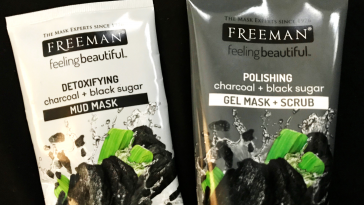 Review: Freeman Beauty Charcoal & Black Sugar Mask And Facial Polishing Mask
