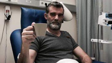 Stefan in hospital