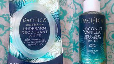 Review: Pacifica Coconut Vanilla Underarm Deodorant Water & Wipes