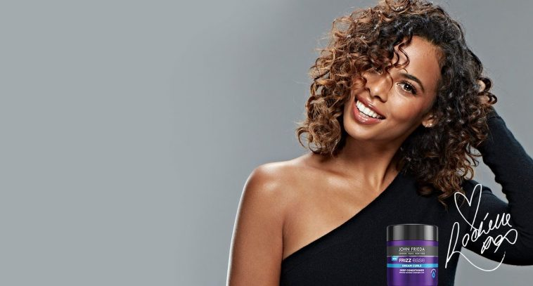 Rochelle Humes Is The New Face Of John Frieda S Frizz Ease Dream Curls Range