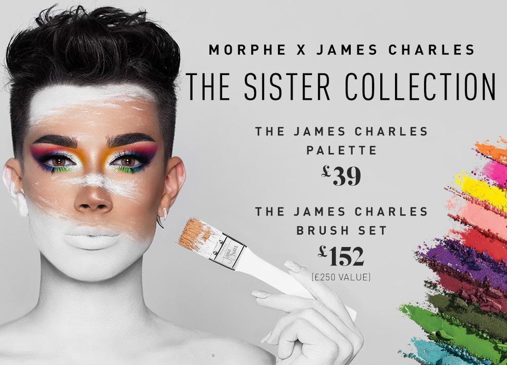 James Charles X Morphe The Sister Collection Fuzzable