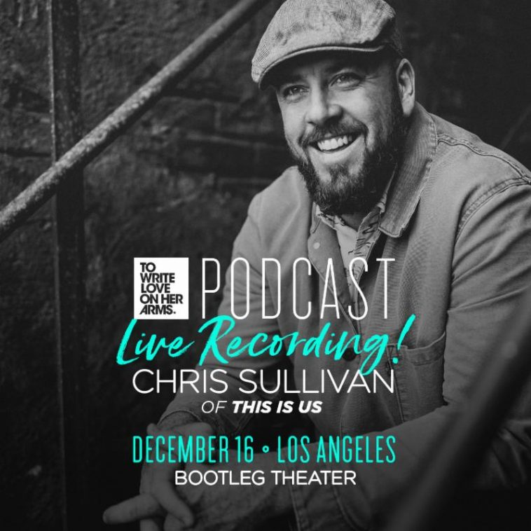 This is Us star Chris Sullivan live in Los Angeles