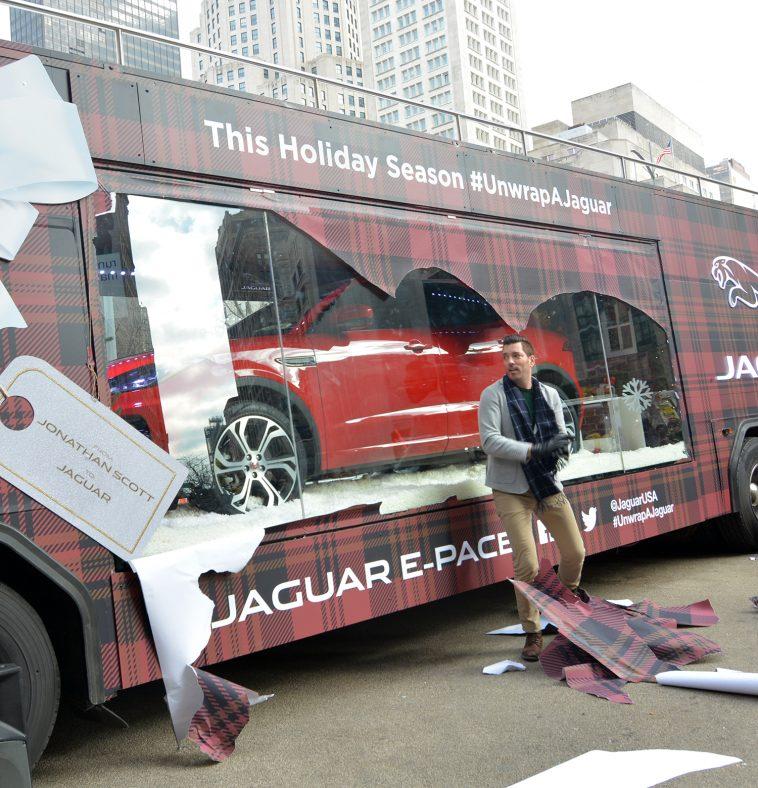 Jonathan Scott HGTV Unwrap a Jaguar