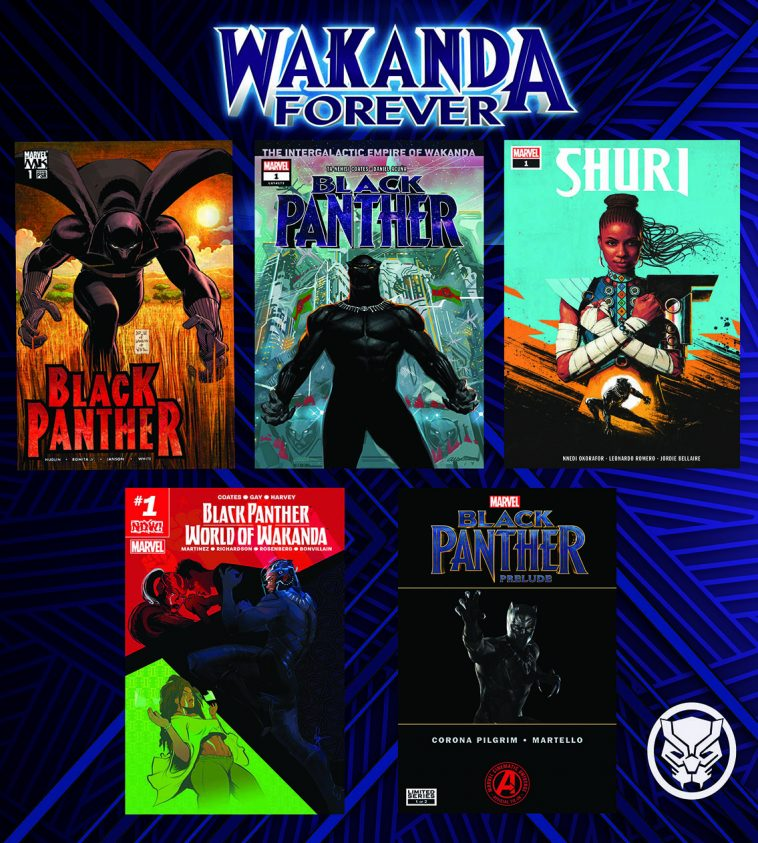 Free Black Panther comics