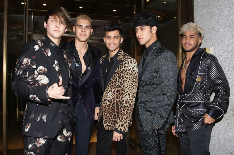 CNCO via Billboard