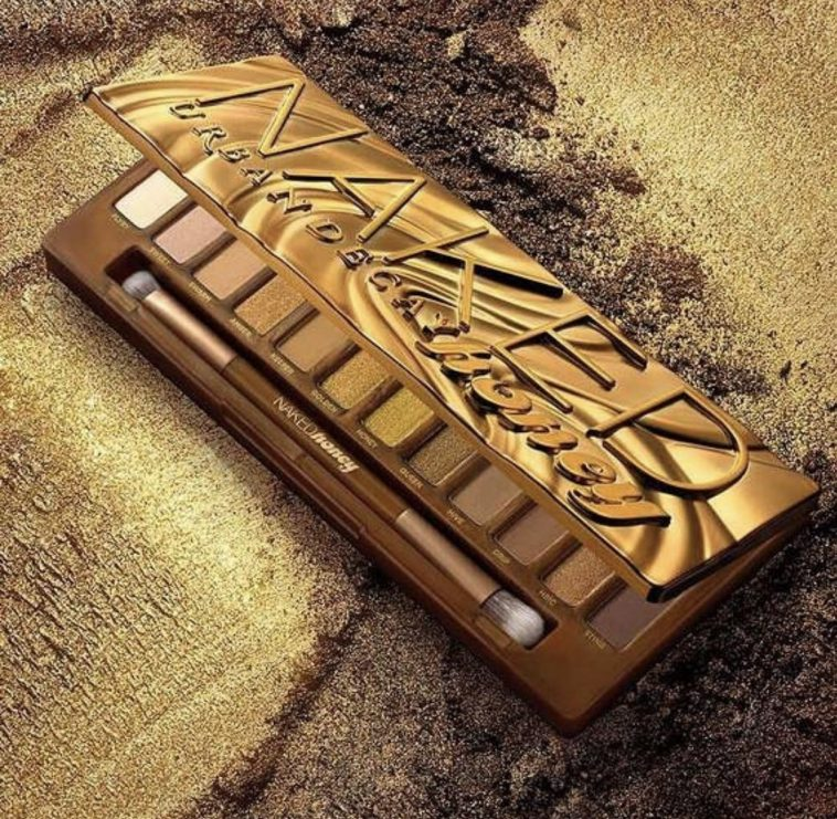 Urban Decay's Naked Honey eyeshadow palette