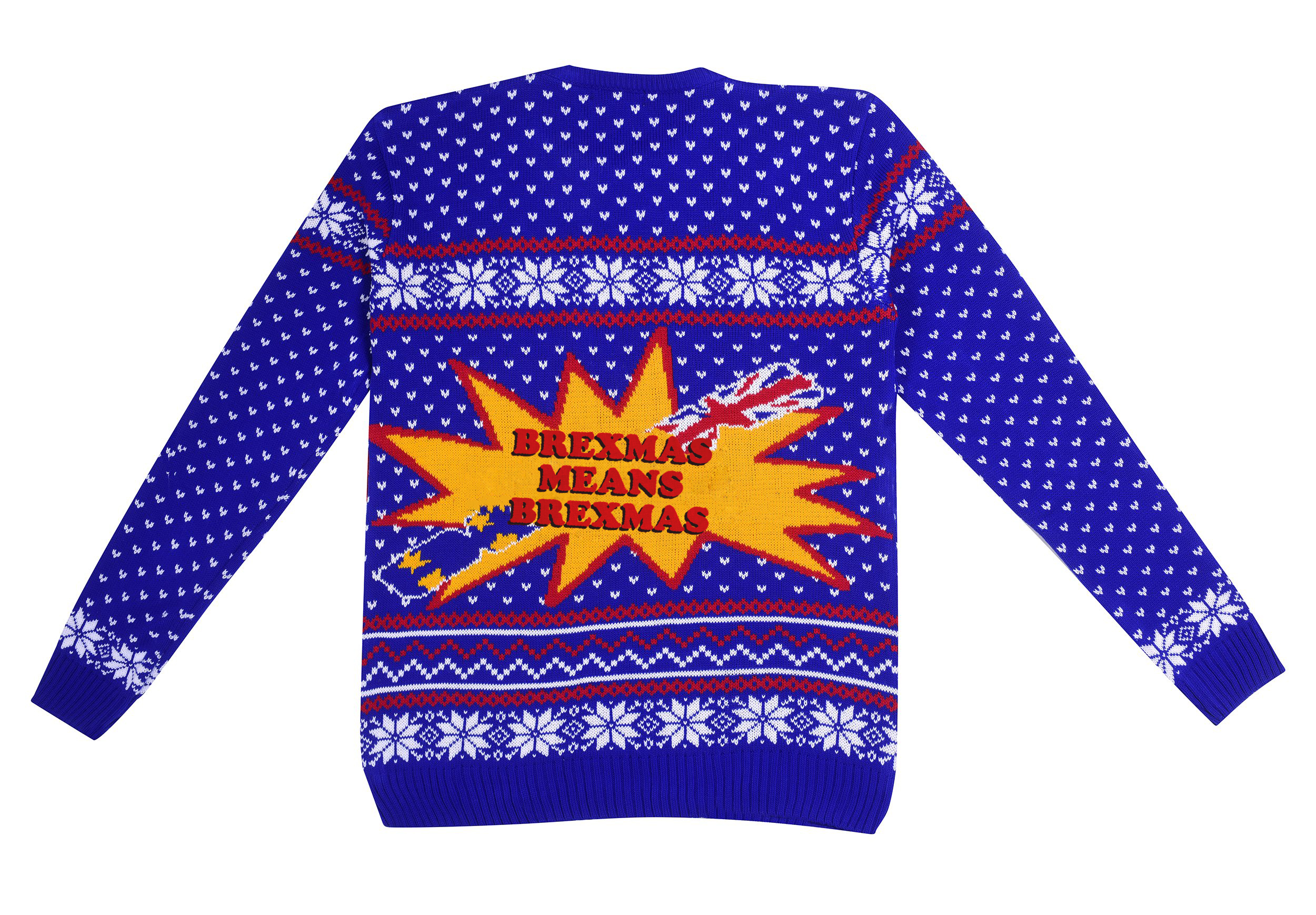 Brexit Leave campaign Christmas jumper