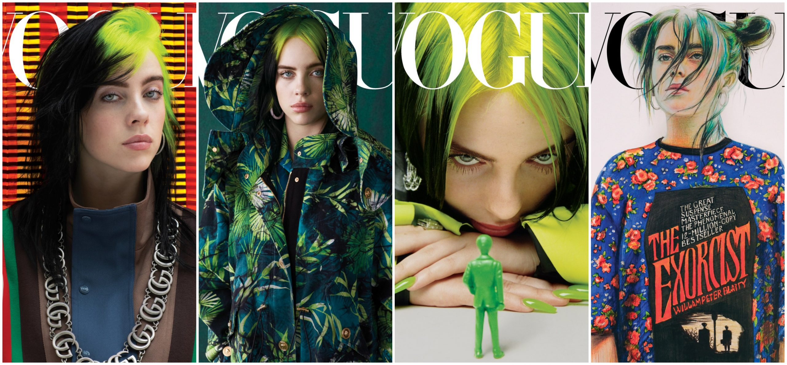 Billie Eilish Lands First American Vogue Cover Fuzzable