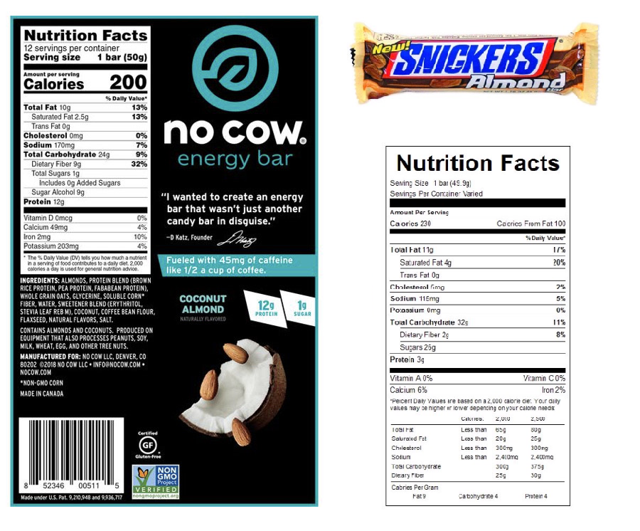 REVIEW: No Cow Coconut Almond Energy Bar (Dairy Free)