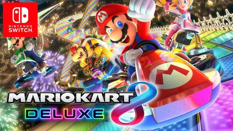 mario games, nintendo switch, mark kart 8 deluxe