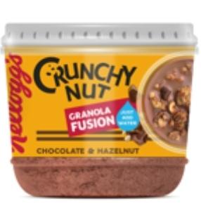 Kelloggs Granola Fusion Crunchy Nut Chocolate & Hazelnut