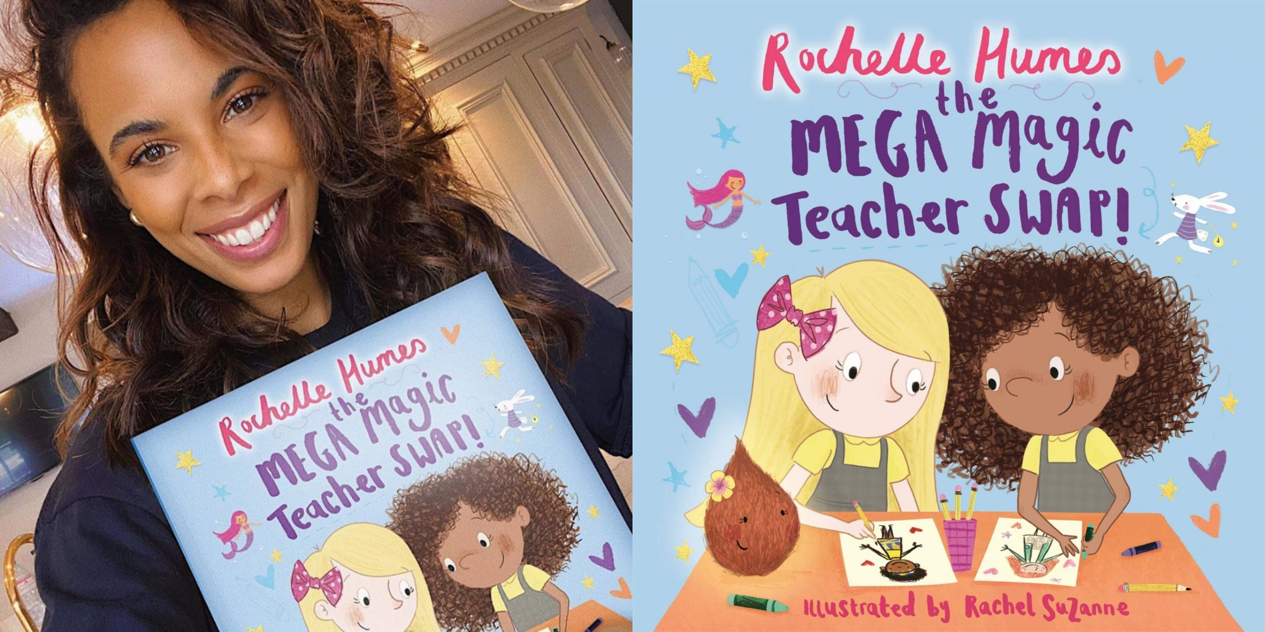 Rochelle Humes Is Releasing Her Second Children S Book Fuzzable