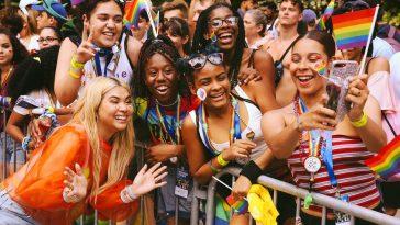 Hayley Kiyoko at Pride NYC