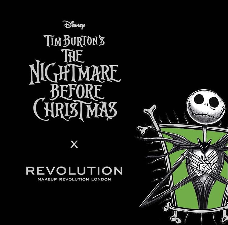 Makeup Revolution x The Nightmare Before Christmas