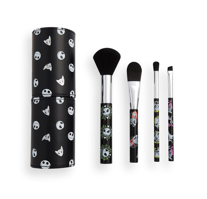 Makeup Revolution x The Nightmare Before Christmas brush set