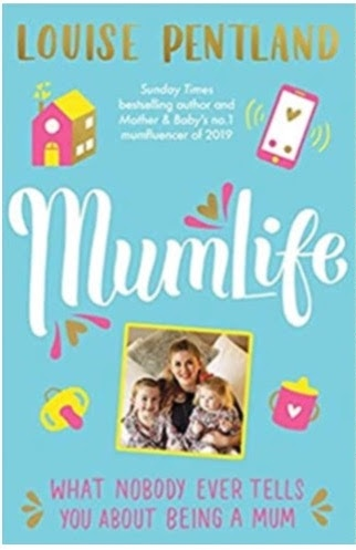 """The front cover of """"MumLife: What Nobody Ever Tells You About Being a Mum"""""""