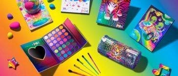 Morphe x Lisa Frank collection