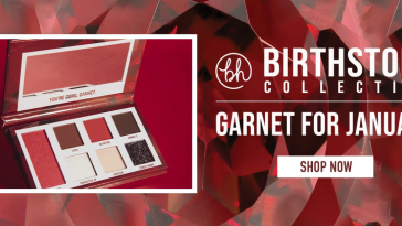 bh cosmetics birthstone collection