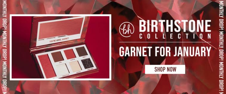 bh cosmetics birthstone collection
