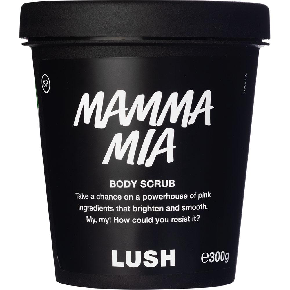 lush mamma mia scrub