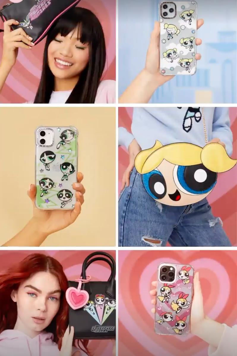 Skinnydip London x Powerpuff Girls accessories and phone cases