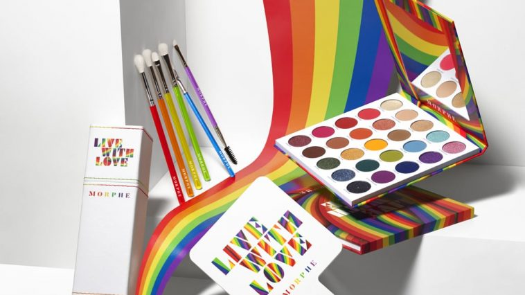 Morphe Live With Love collection for Pride 2021