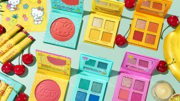 ColourPop x Hello Kitty Tropical Getaway collection